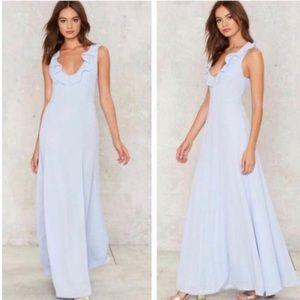 Nasty Gal Marguerite gown